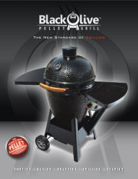 Download the Black Olive Pellet Grill Brochure